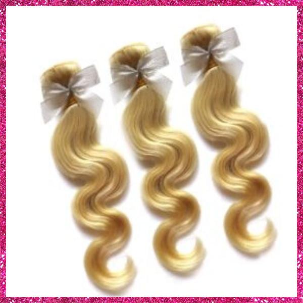 Russian Blonde Body Wave Bundle Deals