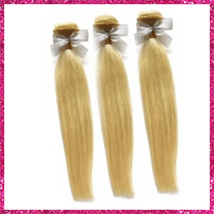 Russian Blonde Straight Bundle Deals